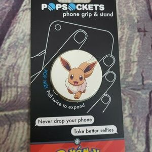 PopSockets Single Phone Grip  Universal Eevee